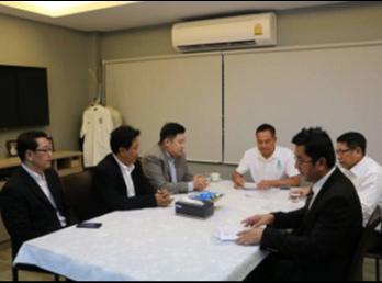 คณบดี ว.นวัตกรรมฯ ปลื้มใจ นายกสมาคมกีฬาฟุตบอลแห่งประเทศไทย พร้อมสนับสนุน หลักสูตร ป.โท สาขาวิชาการจัดการฟุตบอลอาชีพอย่างเต็มที่ในทุกด้าน