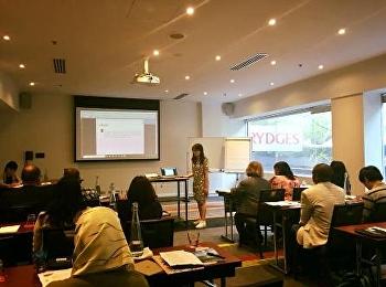 อาจารย์สาขาวิชาเทคโนโลยีสารสนเทศและการสื่อสารเพื่อการตลาด นำเสนอบทความในงาน ICAETS 2018
