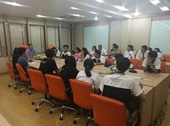 รองคณบดีฝ่ายกิจการนักศึกษา  ประชุมชมรม CIM family ครั้งที่ 3