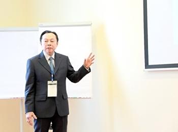 พล.ต.ท.ดร.สัณฐาน นำเสนอผลงานวิจัยระดับนานาชาติ
