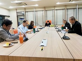 รัฐศาสตร์ โท เอก ประชุมคณะกรรมการบริหารหลักสูตร