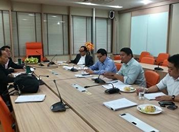สาขาวิชาการจัดการฟุตบอลอาชีพ ประชุมปรึกษาแนวทางในการจัดการเรียนการสอนของหลักสูตร