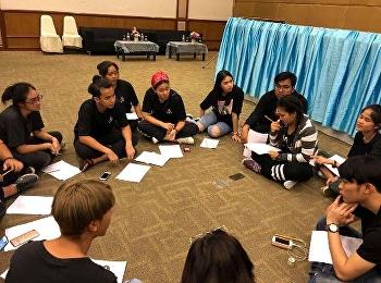 ผู้นำนักศึกษา ว.นวัตกรรมร่วมระดมความคิดนักศึกษา ในการรับน้องปี 1 อย่างสร้างสรรค์
