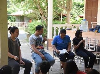 รองคณบดีฝ่ายกิจการนักศึกษา นำสโมสรนักศึกษา ว.นวัตกรรม เข้าอบรมในโครงการ ปรับปรุงและพัฒนาคุณภาพกิจกรรมนักศึกษาระหว่างองค์กร