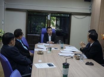 สาขาวิชาการจัดการฟุตบอลอาชีพ จัดประชุมร่วมกับ ทีมงานการไฟฟ้าการผลิตแห่งประเทศไทย เพื่อปรึกษาแนวทางการจัดโครงการฟุตบอลยูลีกหญิง
