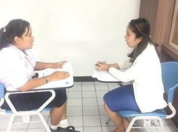 สาขาการจัดการทุนมนุษย์และองค์การ ได้ทำการสอบสัมภาษณ์น้องๆรอบที่5