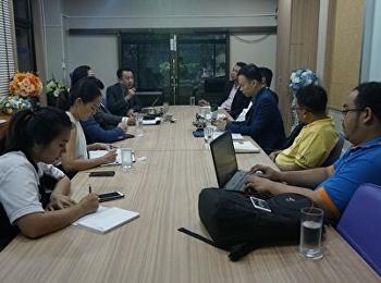สาขาวิชาการจัดการฟุตบอลอาชีพ จัดประชุมหารือกับ ทีมงาน e-sports เพื่อหารือแนวทางการจัดกิจกรรมต่างๆ ในหลักสูตร