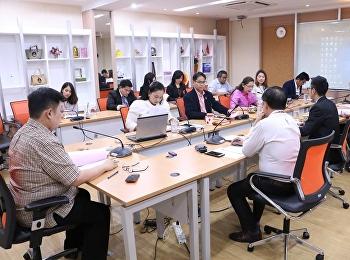28 ส.ค.2561 ว.นวัตกรรมฯ ขับเคลื่อนการดำเนินงาน จัดประชุมผู้บริหาร