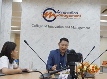 On 2 October 2018, Dr. Phattharawit U-Watthana, the Vice Dean of Student Affairs at the College of Innovation and Management, was interviewed about the opening of the Graduate Management Course and E-Sports Management Major