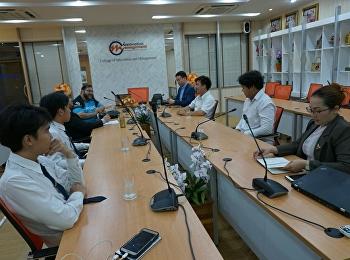 วันที่ 17 ตุลาคม 2561 หลักสูตรบริหารธุรกิจบัณฑิต สาขาวิชาการจัดการอีสปอร์ต วิทยาลัยนวัตกรรมและการจัดการ ได้จัดประชุมจัดทำคณะกรรมการหลักสูตรฯ