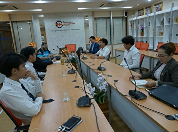 On October 17, 2018, the Bachelor of Business Administration Program in E-Sports Management at the College of Innovation and Management held a meeting organized by the academic committee and led