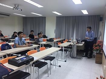วันที่ ๒๙ พฤศจิกายน ๒๕๖๑ หลักสูตรบริหารมหาบัณฑิต สาขาวิชาการจัดการฟุตบอลอาชีพ วิทยาลัยนวัตกรรมและการจัดการ
