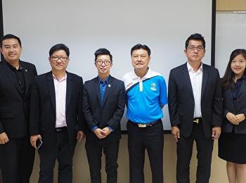 On November 30, 2561 Executive MBA Program. Management Professional Soccer College of Innovation and Management Invited lecturer professor Benjamin Tan