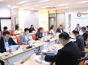 November 20, 2018 College of Innovation and Management Board Meeting Honored by Assoc. Prof.  Luedech  GIRDWICHAI  , President of Suan Sunandha Rajabhat University presided over the meeting at the Conference Room, College of Innovation and Management. Hem