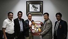 Dean of Innovation paid a courtesy call on President of the Football Association
