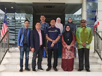 เข้าประชุมร่วมกับผู้บริหารของมหาวิทยาลัย Universiti Teknologi MARA ประเทศมาเลเซีย