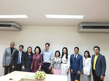 A committee examination of the Master of Business Administration Program in Human Capital and Entrepreneurship Innovation Management prior to its opening took place at College of Innovation and Management.