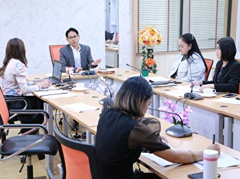 Given some advice from the College of Innovation and Management board of directors, the College planning and quality assurance division held a meeting on the master plan under the national strategy and the electronic monitoring and evaluation system (eMEN