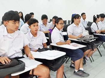 ต้อนรับน้องๆจากหลากหลายโรงเรียนในการสอบสัมภาษณ์ TCAS รอบ Portfolio