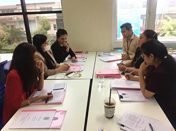 คณะกรรมการบริหารหลักสูตร สาขาการจัดการทุนมนุษย์และองค์การร่วมประชุมหารือแนวทางการฝึกสหกิจศึกษา 2/2562