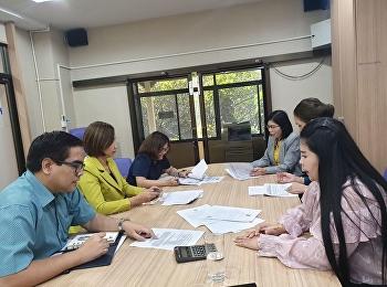 สาขาวิชาการจัดการระบบสารสนเทศเพื่อธุรกิจ จัดประชุมการดำเนินโครงการภาคพิเศษ เทอม 2/2562