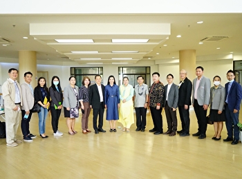 Board of Directors of College of Innovation and Educational Management, observe the Samut Songkhram Educational Center Suan Sunandha Rajabhat University Samut Songkhram Province