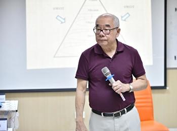 วันที่ 25 ตุลาคม 2563 วิทยาลัยนวัตกรรมและการจัดการ หลักสูตรปรัชญาดุษฎีบัณฑิต สาขาวิชานวัตกรรมและการจัดการ จัดการเรียนการสอน วิชานวัตกรรมการจัดการในยุคโลกาภิวัฒน์ ซึ่งได้รับเกียรติ จากรองศาสตราจารย์ ดร.สมชาย ภคภาสน์วิวัฒน์ เป็นอาจารย์ผู้สอนในวิชาดังกล่าว