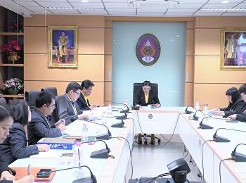 วันที่4 ธันวาคม 2563 รองศาสตราจารย์ ดร.บัณฑิต ผังนิรันดร์ คณบดีวิทยาลัยนวัตกรรมและการจัดการ เข้าร่วมประชุมคณะกรรมการสรรหาผู้อำนวยการสำนักศิลปะและวัฒนธรรม ครั้งที่ 1/2563 ณ ห้องประชุมสำนักงานอธิการบดี อาคาร 32 ชั้น 5