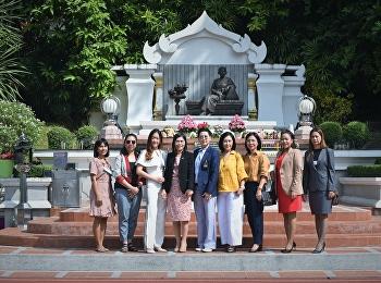 นักศึกษาหลักสูตรปรัชญาดุษฏีบัณฑิต สาขานวัตกรรมการจัดการ รุ่นที่21 ร่วมสักการะสมเด็จพระนางเจ้าสุนันทากุมารีรัตน์ พระบรมราชเทวี เพื่อเป็นสิริมงคล