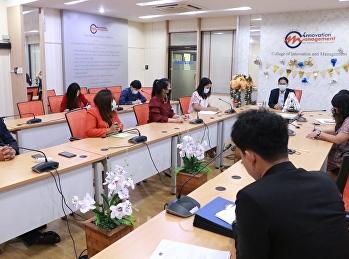 วิทยาลัยนวัตกรรมและการจัดการ ขับเคลื่อนการดำเนินงานของวิทยาลัย โดยจัดประชุมบุคลากร เจ้าหน้าที่สายสนับสนุนวิชาการวิทยาลัยนวัตกรรมและการจัดการ   โดยมีผู้ช่วยศาสตราจารย์ ดร.ปรเมษฐ์ แสงอ่อน รองคณบดีฝ่ายบริหาร เป็นประธานการประชุม