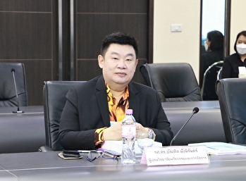 Dean of the College of Innovation and Management Attended the Academic Council Meeting No. 2/2021