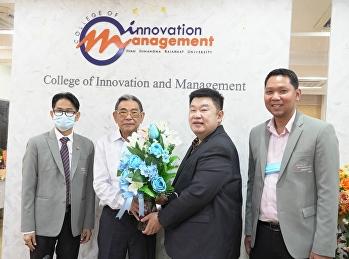 congratulate Prof. Dr. Somboon Suksamran
